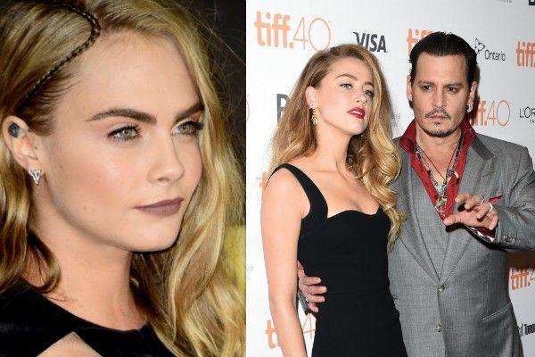 Amber Heard estaria a trair Johnny Depp com a modelo Cara Delevingne http://angorussia.com/entretenimento/famosos-celebridades/amber-heard-estaria-trair-johnny-depp-modelo-cara-delevingne/