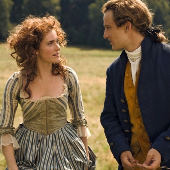 Miriam Stein as Charlotte Buff and Alexander Fehling as Johann Goethe in Young Goethe in Love (2010).