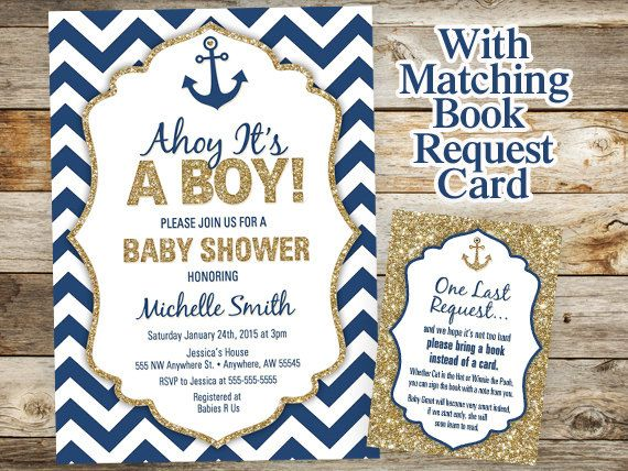 baby nautical shower invitations invitations baby showers anchor