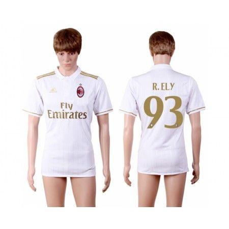 AC Milan 16-17 #R.Ely 93 Bortatröja Kortärmad,259,28KR,shirtshopservice@gmail.com