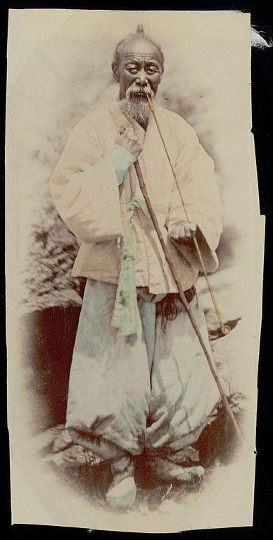 """Old man, farmer"" ca. 1878 Natl Anthropological Archives SIRIS"