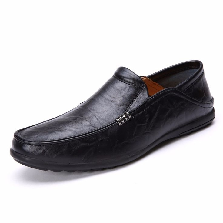 JINTOHO Summer Fashion Casual Men Shoes Breathable Male Shoes Slip On Men Genuine Leather Shoes Men Flats Mens Leather Loafers. Click visit to buy