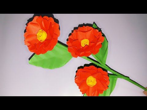 How To Make Beautiful Flower Easy Making Paper Flowers Diy