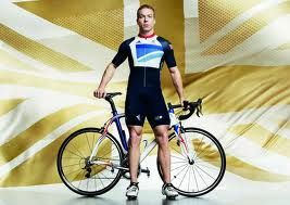 British former track cyclist who represented Great Britain at the Olympics - Chris Hoy -