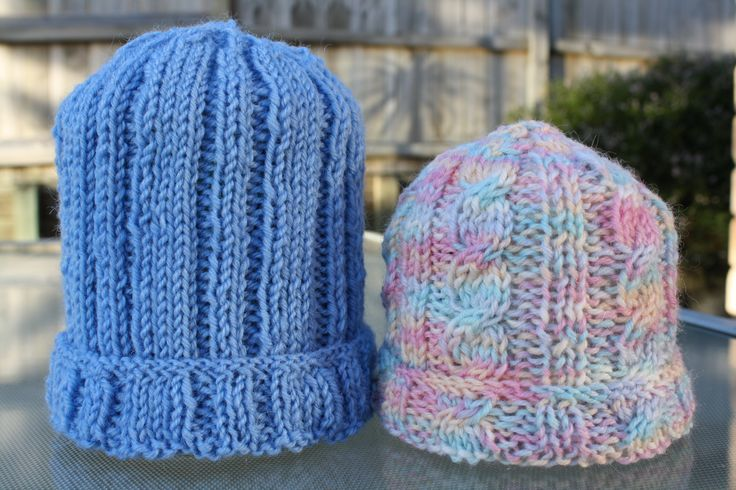 Feeling a bit daring - try changing the ribbed beanie into a cable.