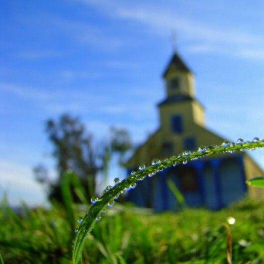 Church Llau llao #Chiloè Castro photo by Carlos Gallegos Palma SURPRESS AGENCIA©