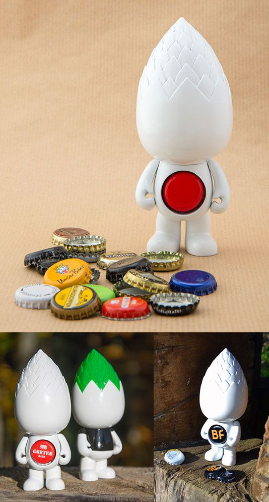SpankyStokes.com | Vinyl Toys, Art, Culture, & Everything Inbetween: A designer toy with beer being its main inspiratio...