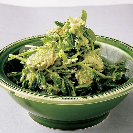 豆苗とアボカドのサラダ by植松良枝さんの料理レシピ - レタスクラブニュース