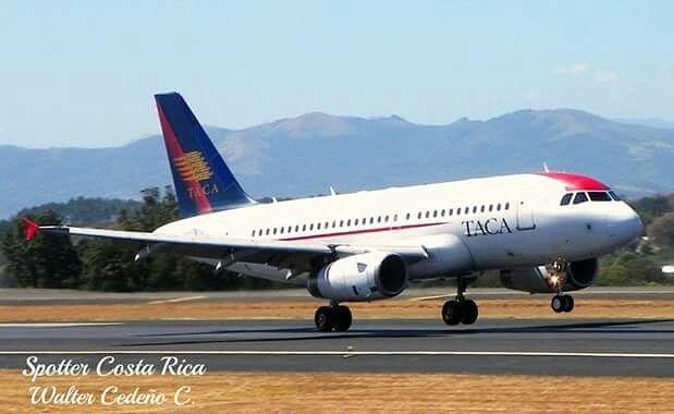 Avianca (TACA) A319 MROC Costa Rica