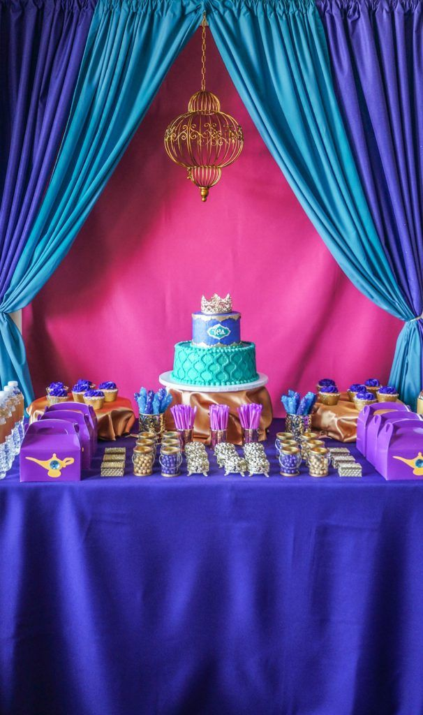 25 best ideas about aladdin birthday party on pinterest for Do it yourself centerpieces for birthday
