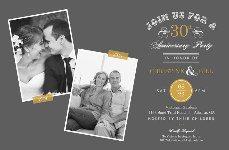 Gift Ideas For 30th Wedding Anniversary For Friends : ... 30th wedding anniversary 50th anniversary ideas 50th wessing anniv