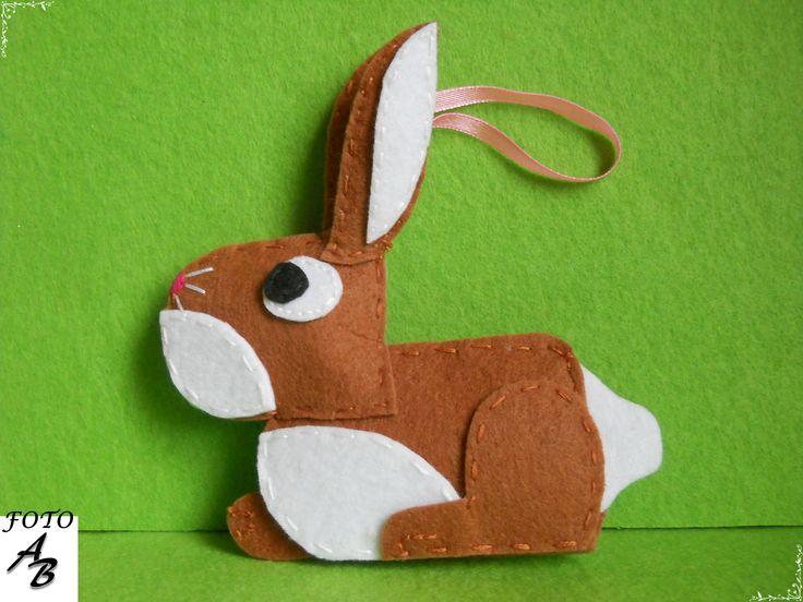Rabbit felt / Królik filc