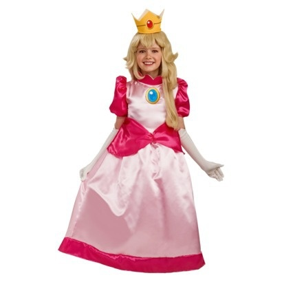 princess peach costume reference