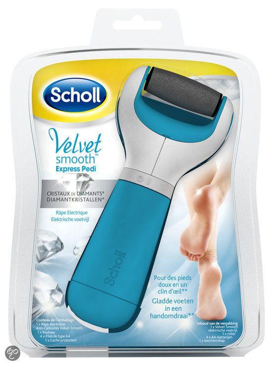 Scholl Velvet Smooth Elektronische Voetvijl 25% KORTING
