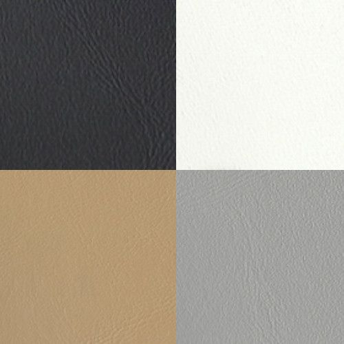 Black White Tan Gray Marine Vinyl Fabric Colors