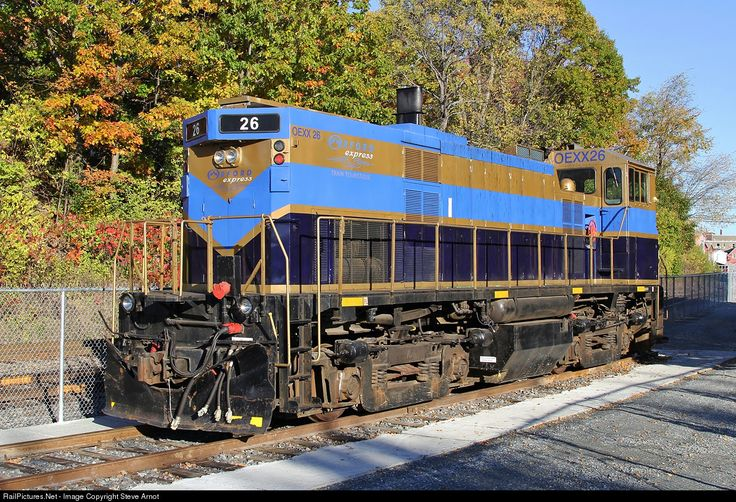 RailPictures.Net Photo: OEXX 26 Orford Express MLW M420TR at Magog, Quebec, Canada by Steve Arnot