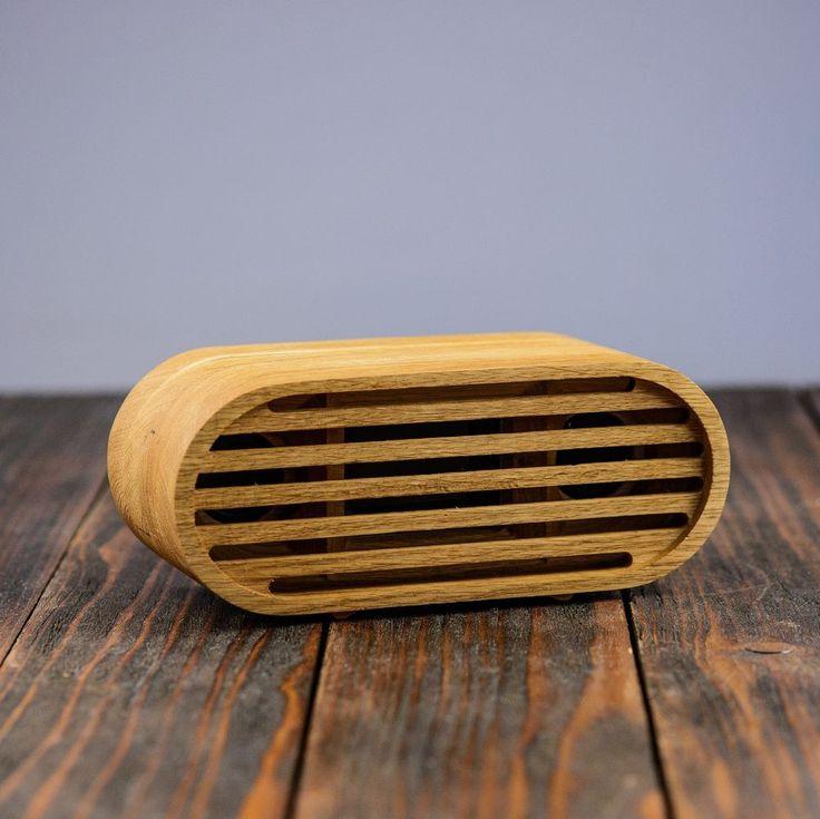 Bluetooth 4.0 Phone Speaker Wooden Wireless Speaker Portable Wood Speaker  #Handmade