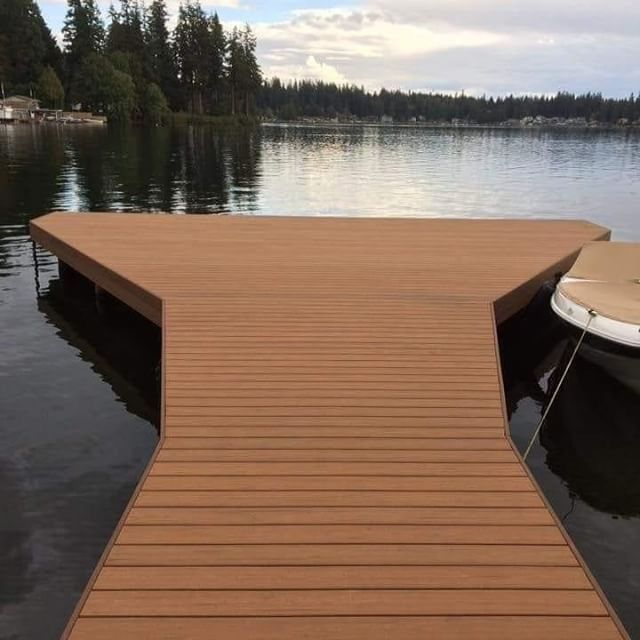 On The Ground In The Ground Or Underwater Backed By The Best Warranty In The Industry Why So You Can Have Views Like Thi Deck Outdoor Design Outdoor Deck