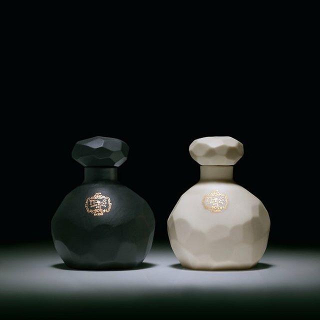 @joyastudio #joya #perfumes #NYC #Greece #sensual #frangrances #porcelain #bottles #perfume #wands dipped in #22k #gold #exquisite #parfume #composition no.1 & no.6 #perfumeoil  #rosinaperfumery @ Rosina Perfumery