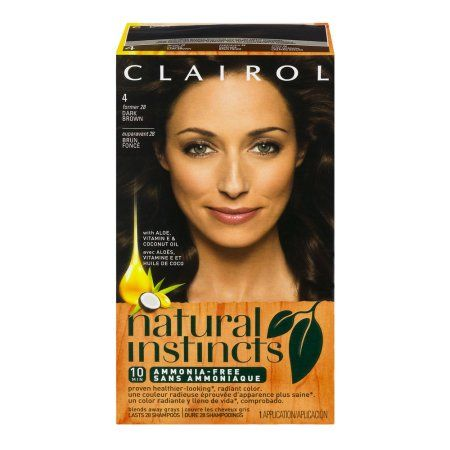 Clairol Natural Instincts Hair Color, Brown