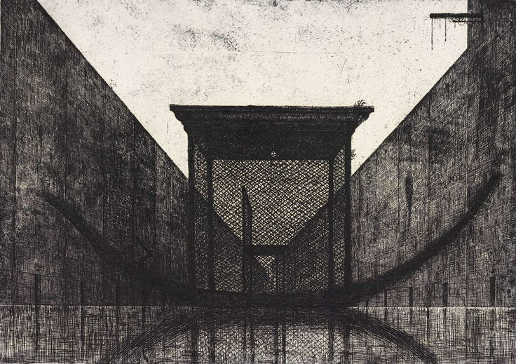Alexander Brodsky. Untitle. 1993. Etching