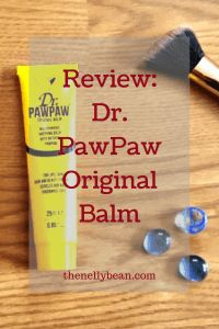 Beauty Review: Dr. PawPaw Original Balm - thenellybean