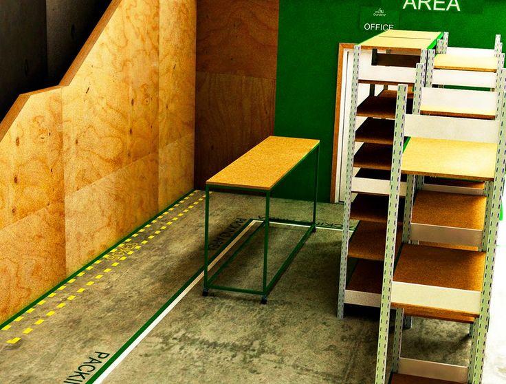 Winter Gardenz Ltd.  Winter Gardenz con sede en Nueva Zelanda presentaba una notable deficiencia en la distribucion de su espacio con respecto a las actividades en una de sus bodegas, de ahi surge el proyecto para acelerar los procesos de produccion.  Sitio Web: http://wintergardenz.co.nz/
