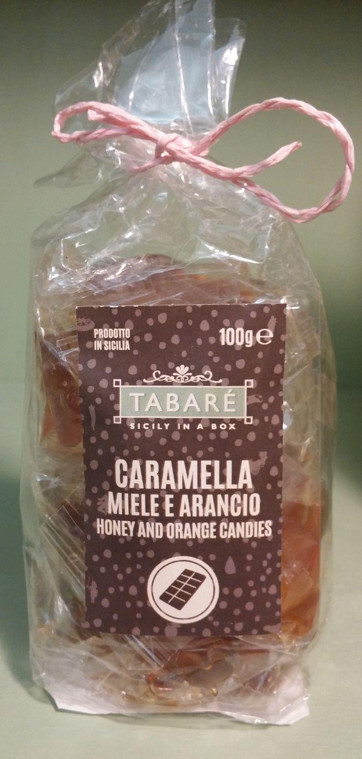 Honey and orange candies