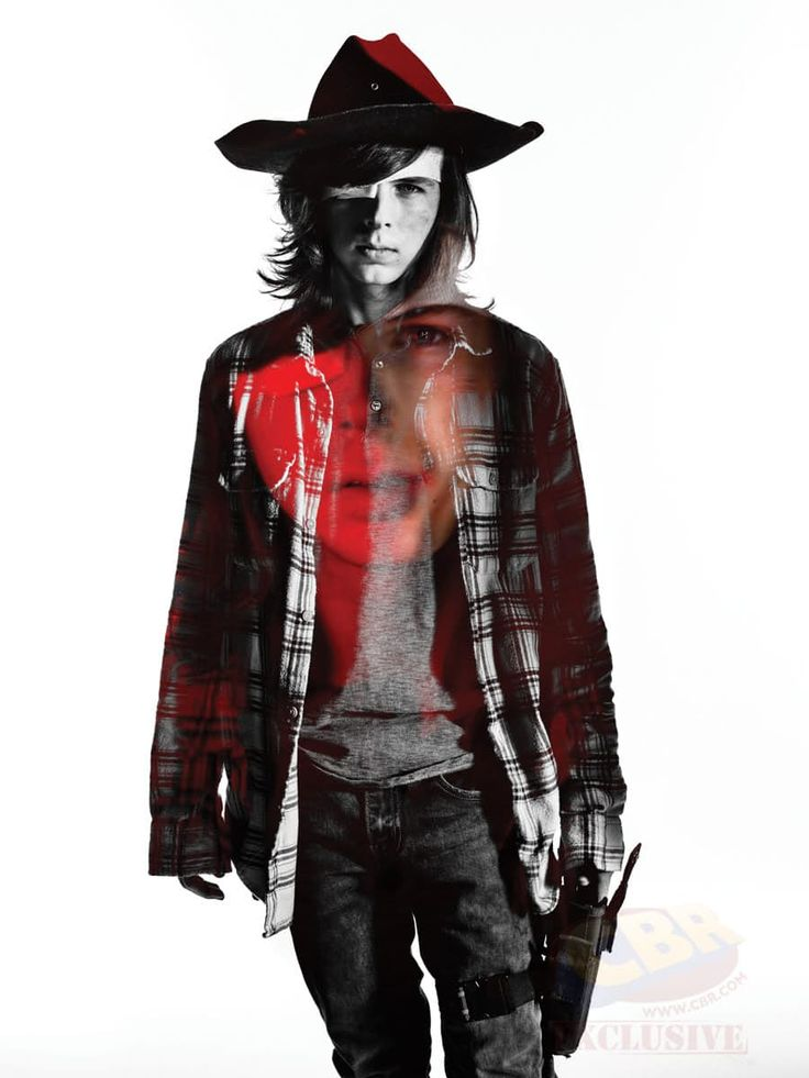 The Walking Dead Season 7 Character Portraits carl1-201290 – The Walking Dead