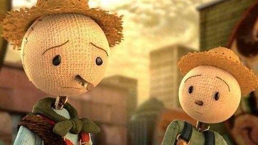 """Το """"Σκιάχτρο"""" είναι ένα πολύ δυνατό animation που σε λίγα λεπτά αποτυπώνει την σκληρή αλήθεια πίσω από το πλαστικό φαγητό.."""