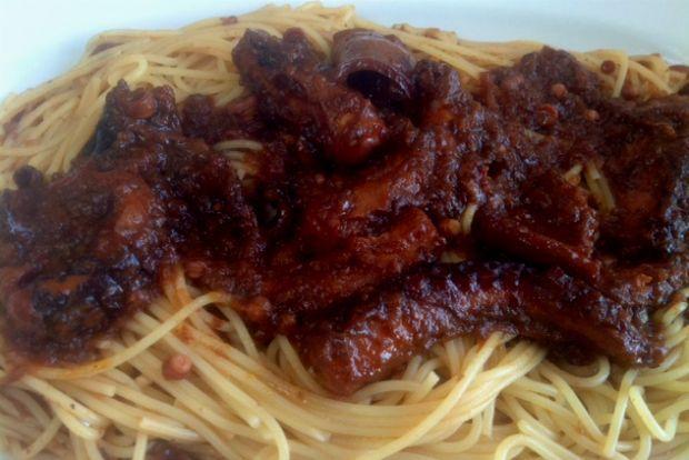Μακαρονάδα με χταπόδι του Μπέλλου | Κουζίνα | Bostanistas.gr : Ιστορίες για να τρεφόμαστε διαφορετικά