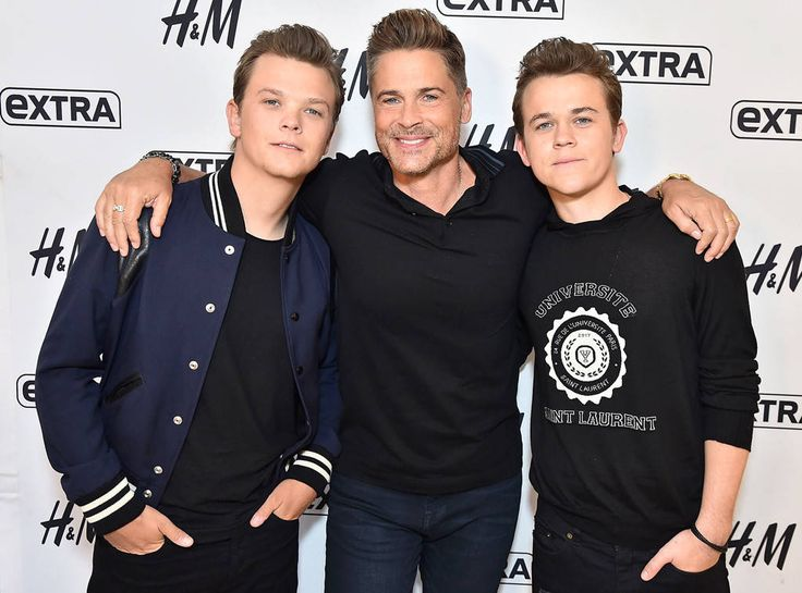 Matthew Lowe, Rob Lowe & John Owen from The Big Picture: Today's Hot Photos  It's a family affair! The handsome actor steps out with his equally good-looking sons in New York City.