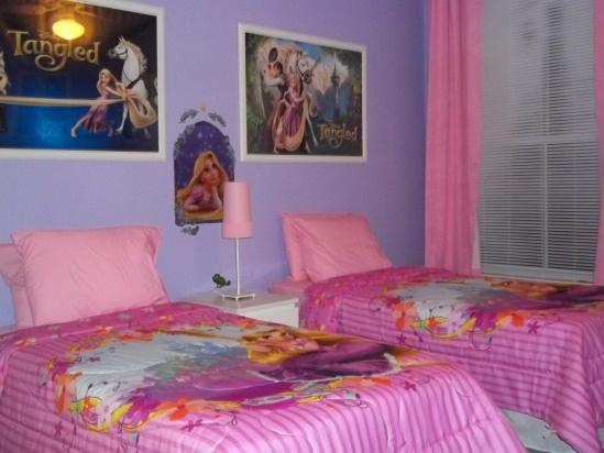 rental tangled rapunzel themed bedroom 2 bed 2 bath on our floor