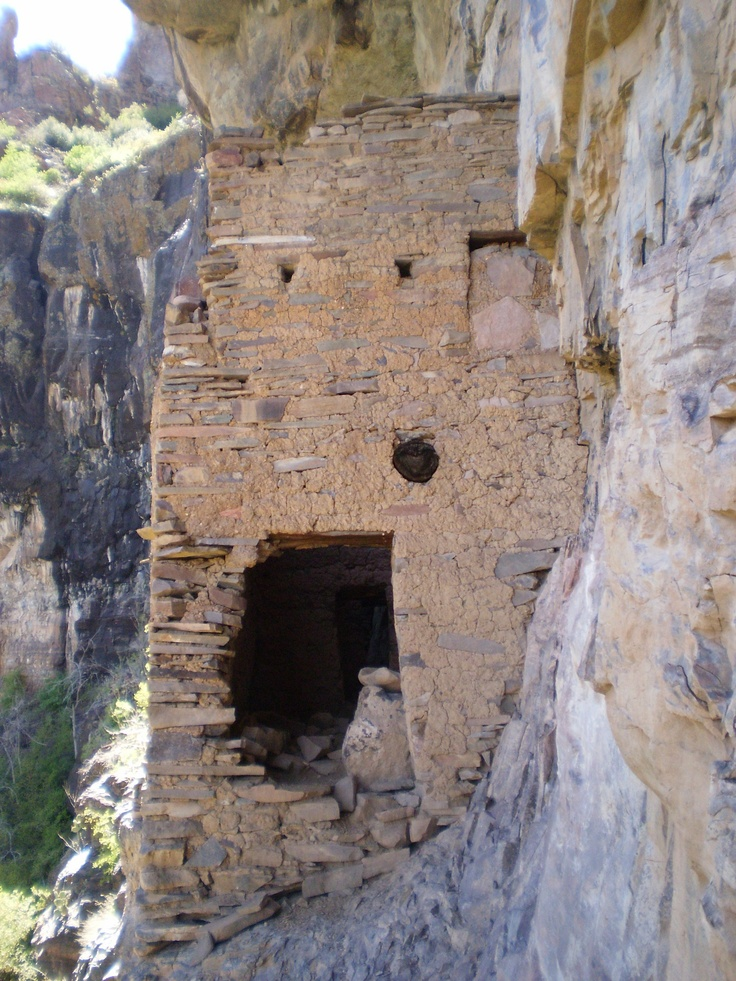 Dwelling In The Word: Devils Chasm Cliff Dwelling, Sierra Ancha Wilderness