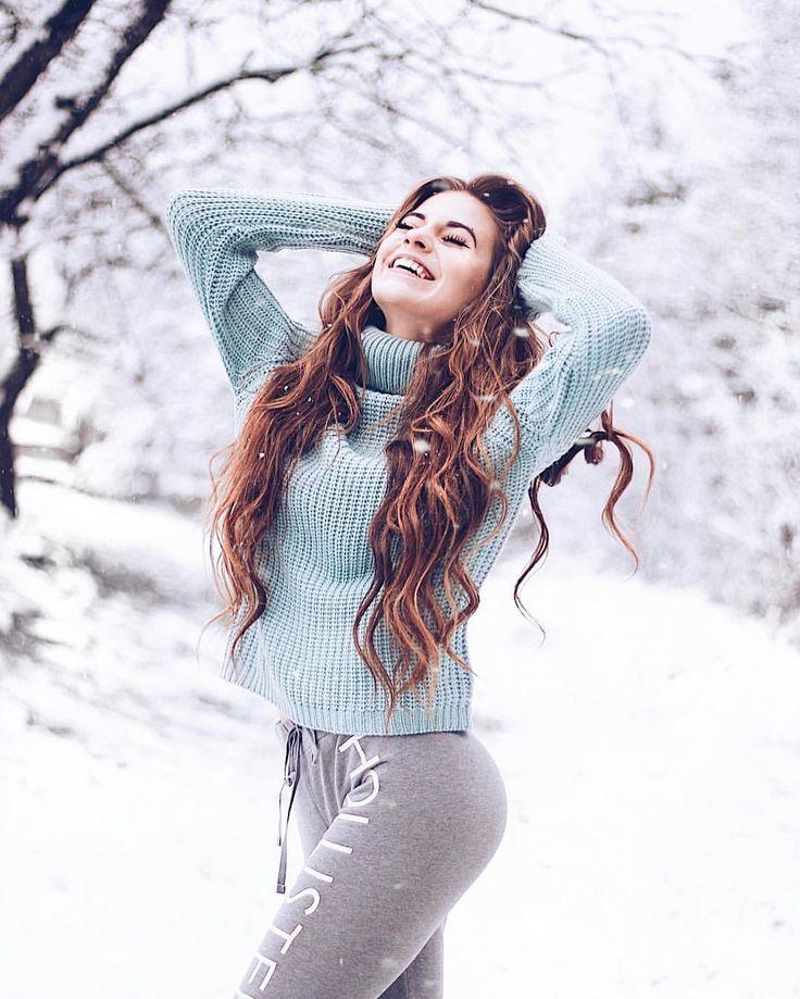 огда все позы для зимней фотосессии со снегом старый