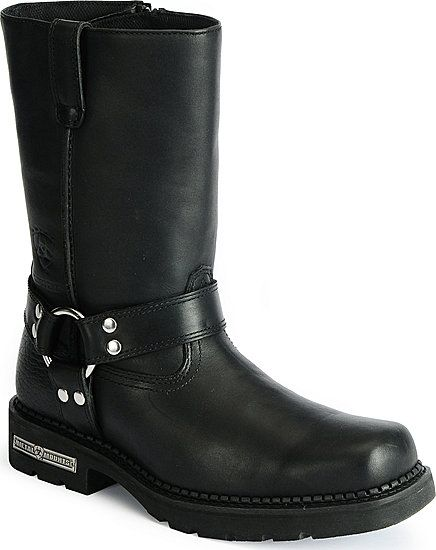 Men's Ariat Carbide H2O motorcycle boots. Always wanted to be able to pull off boots in every day fashion. Not sure if I can