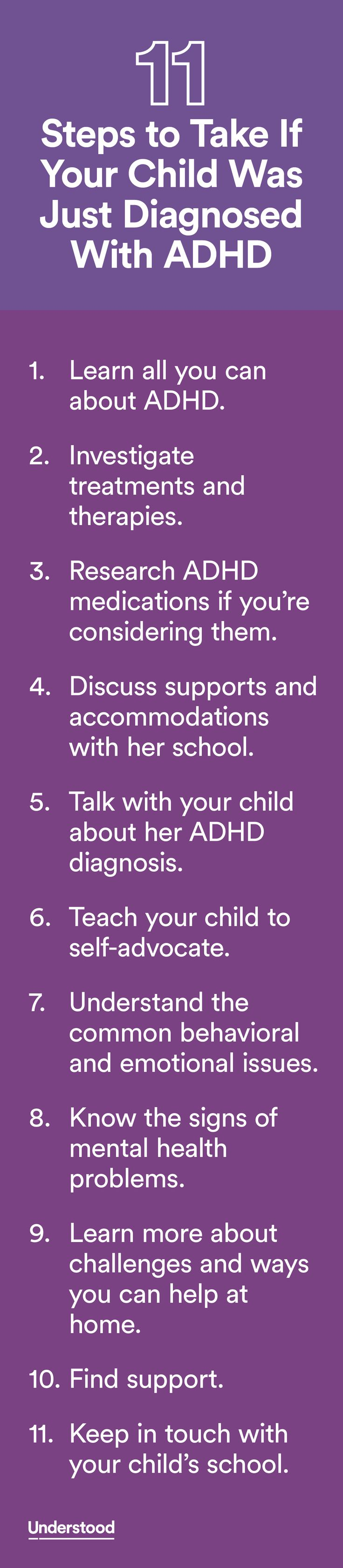 If your child has just been diagnosed with ADHD, you might be wondering  what this