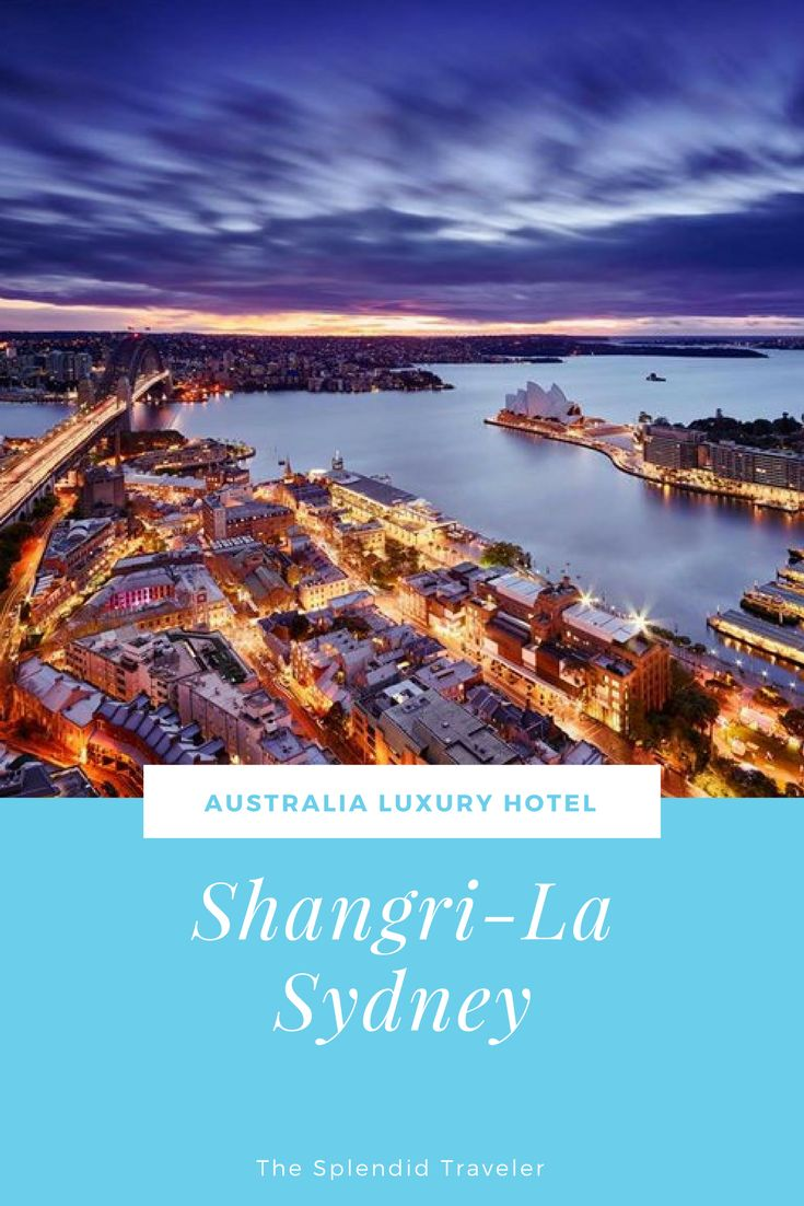 Australia Luxury Hotel | Shangri-la Sydney | The Opera House, the Harbor Bridge, a colorful city life, all turned into mere spectacles from your soundproof windows and luxe suites at the Shangri-La Sydney. An award-winning restaurant with views of the harbor, a NYC-esque bar, exemplary service and an enviable location, really can't ask for more. You don't see many beating excellence, but this 565-room property does it with ease.