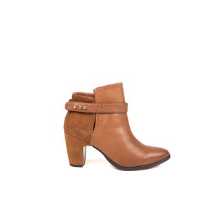 Mei Ankle Boots Cognac