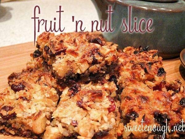 Fruit 'n Nut Biscuit Slice