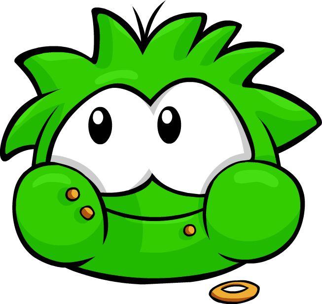 Green Puffle - Club Penguin Wiki - The free, editable encyclopedia ...