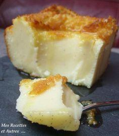 Un dessert que l'on adore à la maison … Ingrédients : 1 yaourt (maison à la vanille) de 125g 2 œufs 2 pots de farine 4 pots de lait - 1,5 pot de sucre 50g de beurre 1 gousse de vanille cassonade Attention, il faut conserver votre pot de yaourt vide, car...