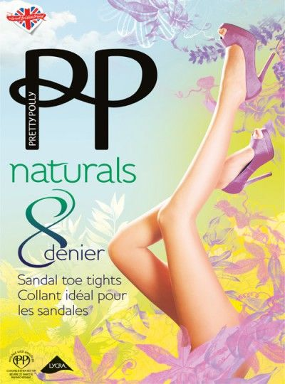 Pretty Polly 8 Denier Natural Tights - Pretty Polly - My Tights.com
