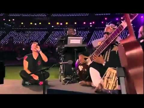 Coldplay - Strawberry Swing [Live at Olympic Stadium, Paralympics Closing Ceremony] - this is so beautiful in so many ways - the paraorchestra introduction, Jonny's guitar, the dancers, & Chris sitting & singing - beautiful!!!