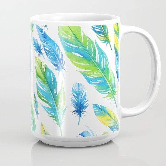 https://society6.com/product/feathers-pattern-03_mug?curator=bestreeartdesigns. $18