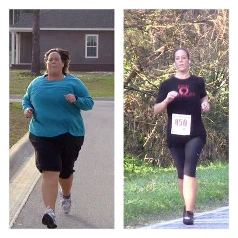 "Tracy Ryan: ""A few years ago...I lost 200 lbs in one year, running each step of the way and eating a vegan diet. I have now completed 6 half marathons and will be completing my first marathon at the end of this month. I am NOT a ""good"" runner and I'm followed by the sag wagon at many events. But I am out there and doing it. I highly recommend you to never get discouraged and realize that every step you take is one more than those sitting on the couch."""
