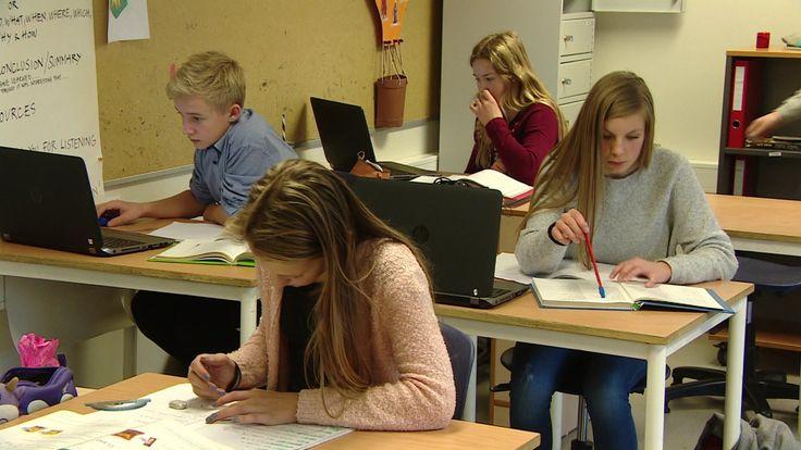 Ved Høylandet skole har de hatt mobilforbud siden 2005, og skolen er en av de beste i landet.