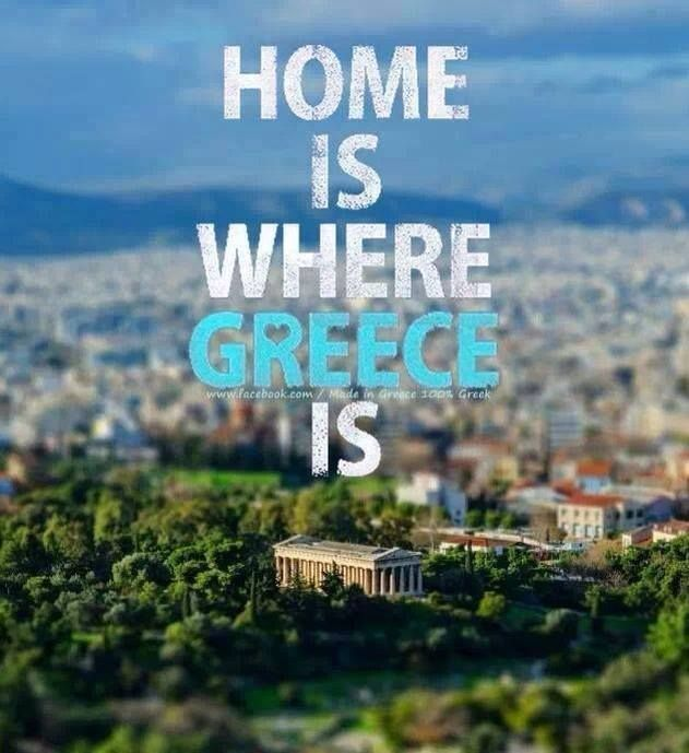 Home is where Greece is..
