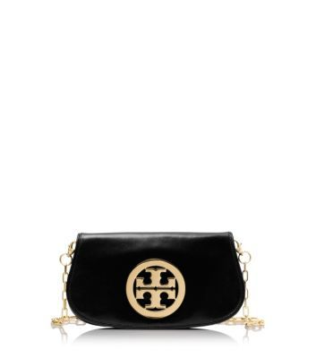 Tory Burch Logo Clutch : Women's Clutches & Evening Bags | Tory Burch