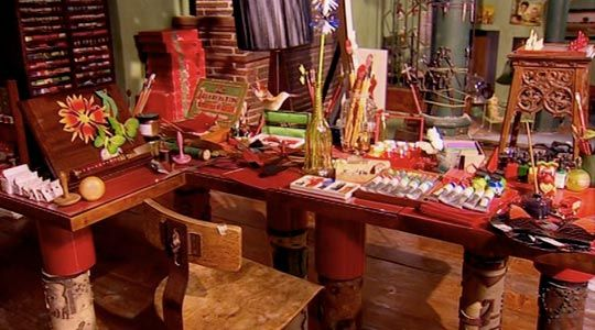 "imaginative study and work place (from ""penelope"" movie)"